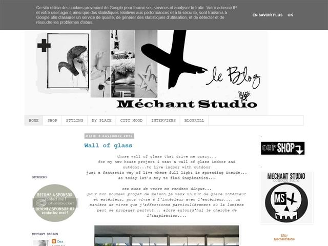 Blog de Méchant Studio
