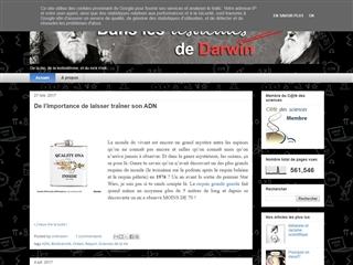 Dans les testicules de Darwin