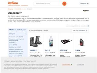 Kelkoo : Amazon