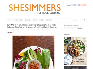 SHESIMMERS : THAÏ HOME COOKING