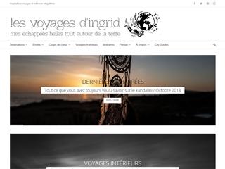 Les voyages d'Ingrid