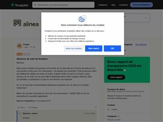Trustpilot : Alinéa