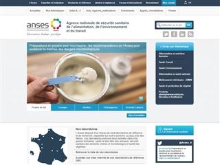 ANSES (Agence nationale de Sécurité Sanitaire)