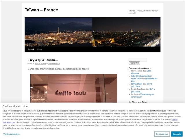 Taiwan France