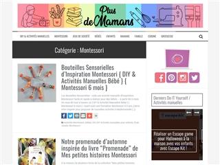 Plus de Mamans : Montessori