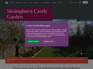 Jardins et château de Sissinghurst