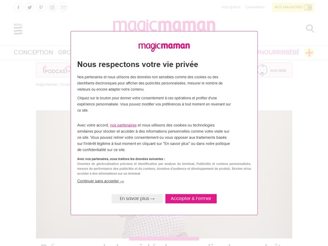 Magic Maman : Grossesse