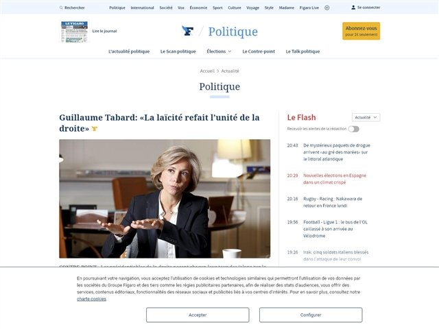 Le Figaro : Politique
