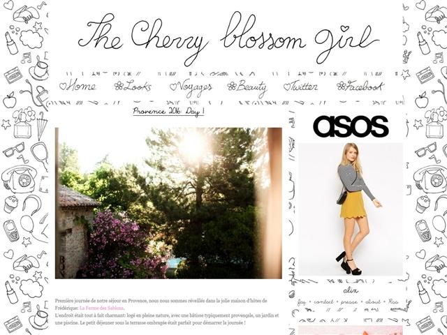 The Cherry Blossom Girl : Voyage
