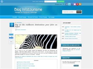 Blog Infotourisme : Top 10 des meilleurs endroits pour safaris