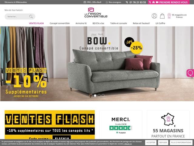 la maison du convertible. Black Bedroom Furniture Sets. Home Design Ideas