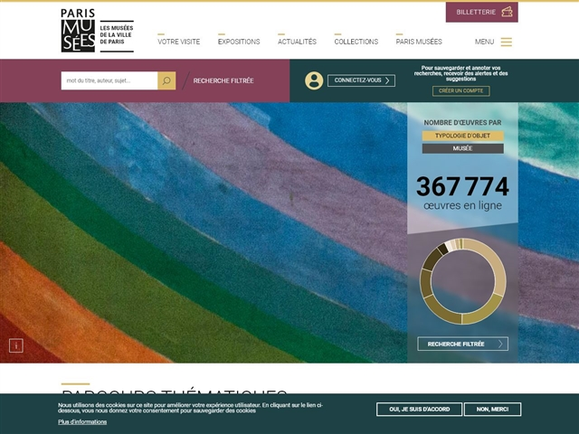 Collections en ligne des musées de Paris