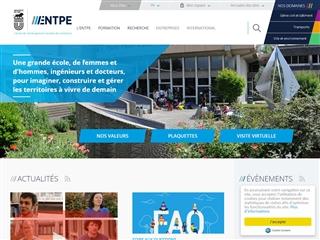 École nationale des travaux publics de l'État (ENTPE)