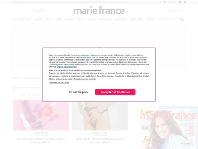 Marie France : Amour et sexe