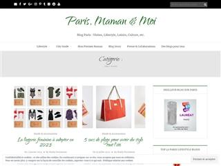 Paris, Maman & Moi : Mode et Accessoires