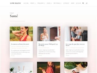 Vivre Healthy : Santé