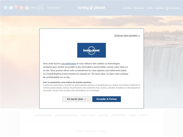 Lonely Planet : Canada