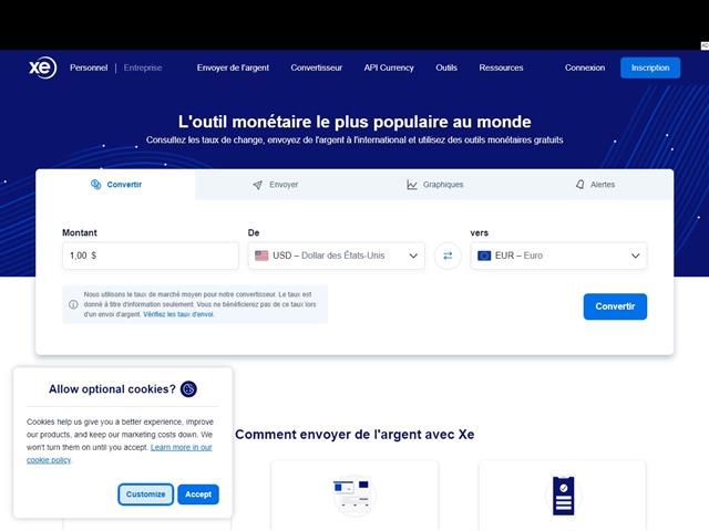 XE - Le site des devises