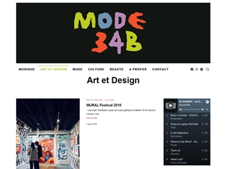 Mode 34B : Art et Design