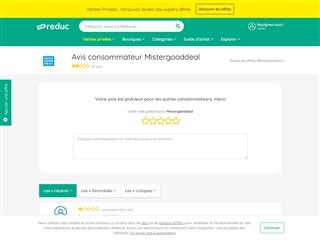 Ma-reduc.com : Mistergooddeal
