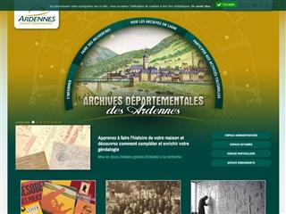 Ardennes (08) - Archives départementales