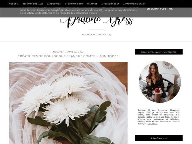 Pauline Dress : À Besançon