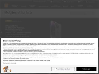Orange : offres Mobiles