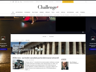 Challenges blog bourse