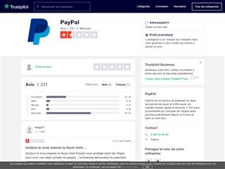 Trustpilot : PayPal