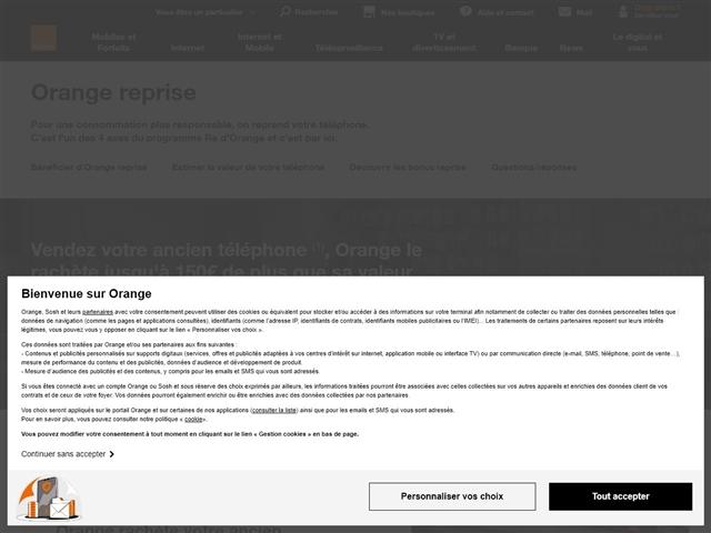 Orange : Recyclage de mobile