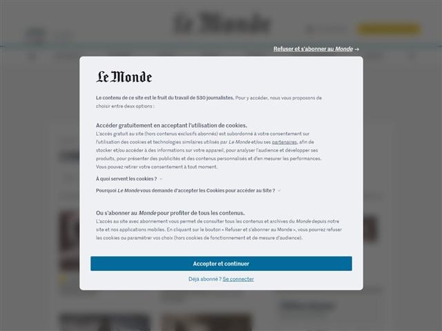 Le Monde : Cinéma