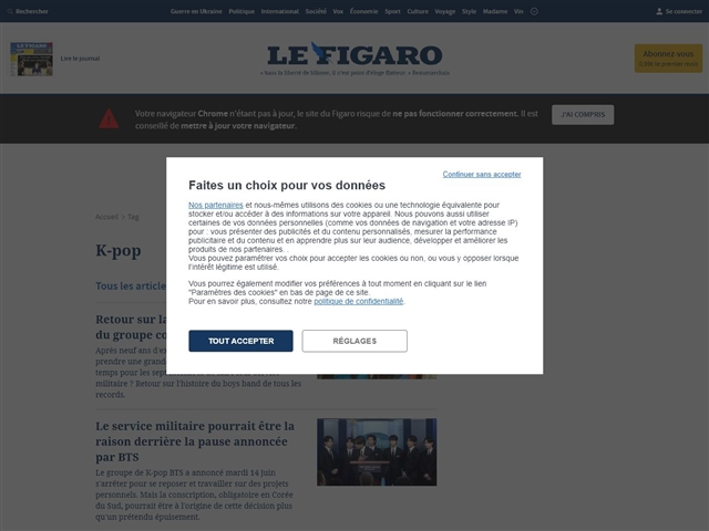 Le Figaro : K-Pop