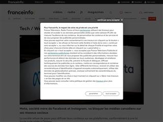 FranceTV Info : Tech/Web