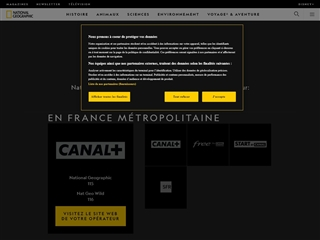 National Geographic (FR) : Chaîne TV