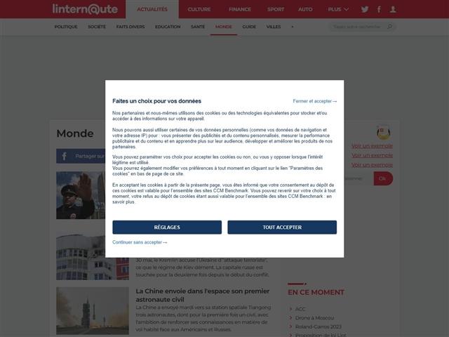 L'Internaute Actualité : Monde