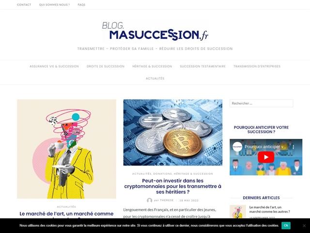 Blog Ma Succession.fr