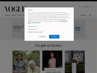 Vogue uk : Celebrities photos