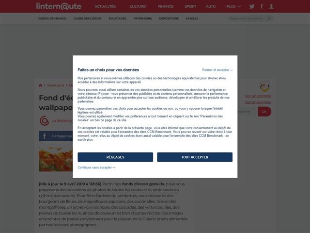L'Internaute : Fonds d'écran