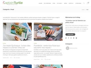 Captain Turtle : Food