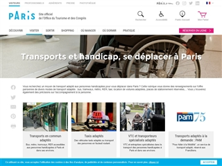 Transport et Handicap à Paris