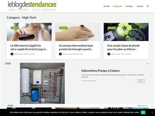 Le Blog des Tendances : High-tech