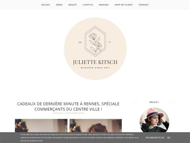 Juliette Kitsch : Bonnes Adresses