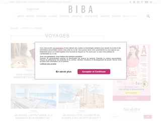 Biba : Voyages