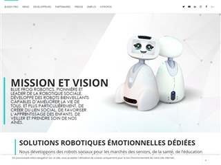 Buddy le robot émotionel