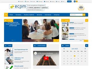 École européenne de Chimie, Polymères et Matériaux (ECPM)