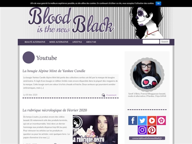 Blood is the New Black : Tutoriels sur Youtube