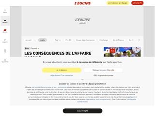 L'Équipe : Rugby