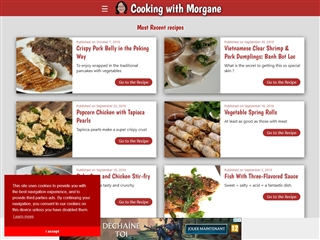 Cooking with Morgane (cuisine du Laos)