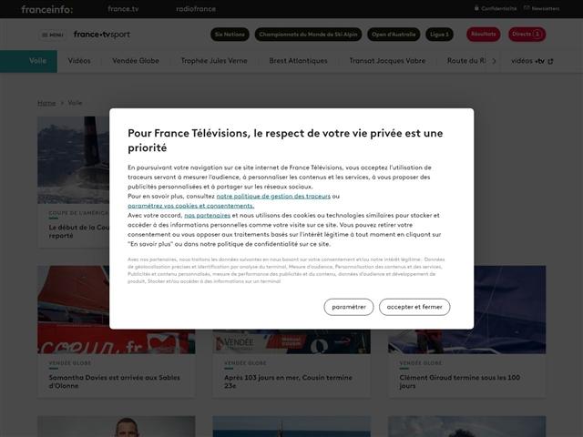 France TV Sport : Voile