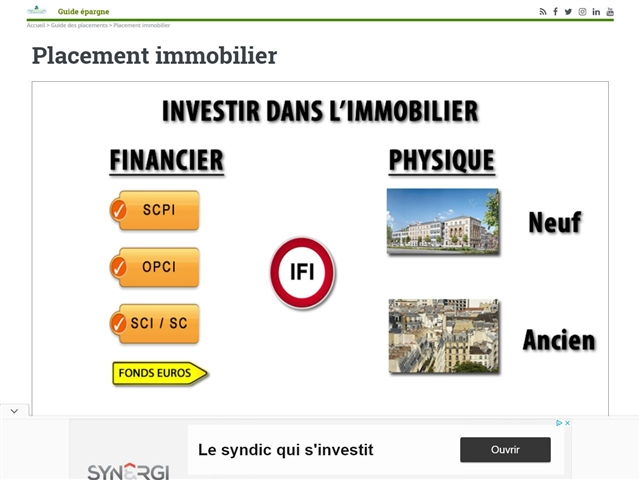 France Transactions : Comparatif de Placements Immobiliers